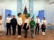 Батлеечный спектакль на Рождественский сюжет